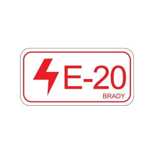 Energy Source Label Electrical