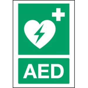 ISO 7010 Sign - Automated external heart defibrillator
