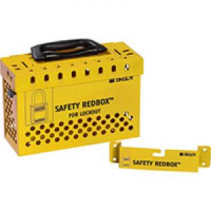 Safety Redbox Group Lockout Box - Yellow