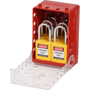 Ultra-Compact Lock Box + 6 Yellow KA Locks