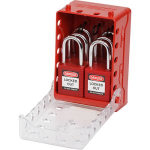 Ultra-Compact Lock Box + 6 Red KA Locks
