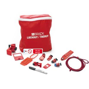 Electrician Lockout Kit + Tag EN
