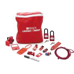 Electrician Lockout Kit + Padlocks