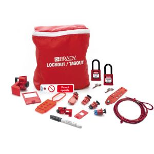 Electrician Lockout Kit + Padlocks & Tag EN