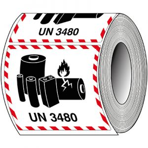 Packaging Labels - Lithium-ion - UN 3480