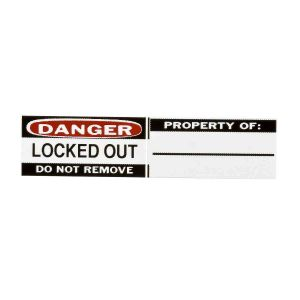 Labels for Aluminium Padlocks