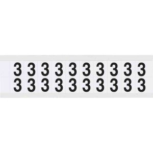 Identical numbers and letters on one card for indoor and outdoor use