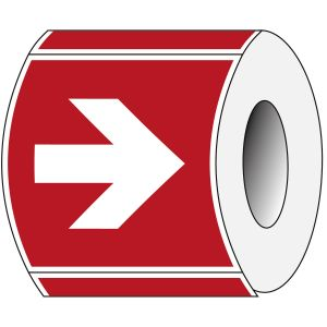 ISO Safety Sign - Direction arrow (90° increments), fire fighting