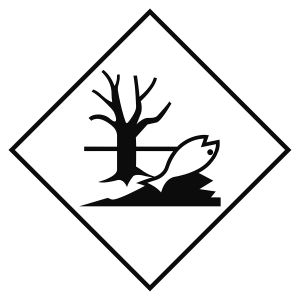 Transport Sign - ADR EHS - Dangerous substance for the environment