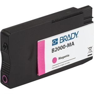 Magenta pigment based ink cartridge for J5000 Printer