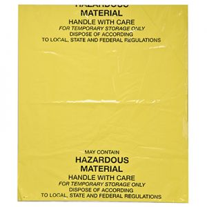 Disposal Bag for Spill Kits and Stations
