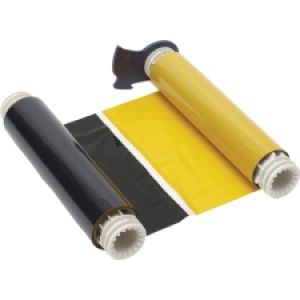 BBP85 Ribbon - Blk-Yellow 158mm with 200mm long panels