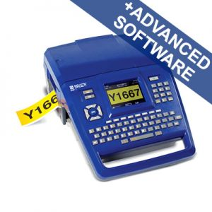 BMP71 Label Printer - QWERTY UK with Brady Workstation SFID suite