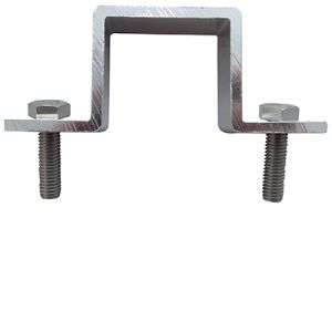 2 Fixing Brackets for 40 x 40mm Pole