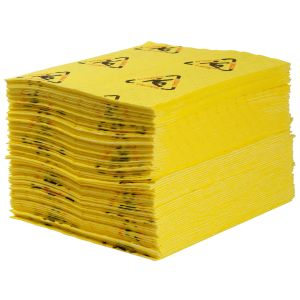 BrightSorb High Visibility Safety Absorbent Pad, 38 cm x 48 cm