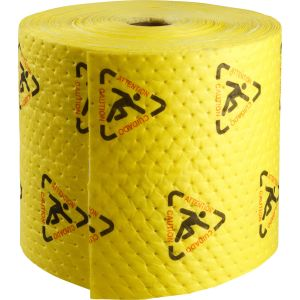 BrightSorb High Visibility Safety Absorbent Roll, 38 cm x 46 cm