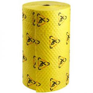 Safety mat, 76 cm x 46 m, medium weight, double perforated & bonded