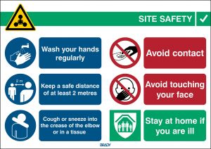 Safety Sign COVID-19 General Safety Information