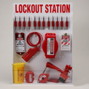 Adjustable Lockout Stations - Large Lockout Station