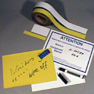 Magnetic write-on/wipe-off A4 sheet