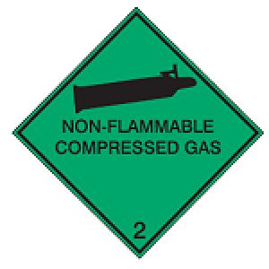 Maritime Transport Sign - IMDG 2C - Non-flammable compressed gas