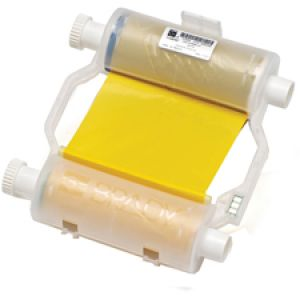 Yellow Heavy-duty Ribbon to print coloured B-595 material for BBP3x/S3xxx/i3300 Printers