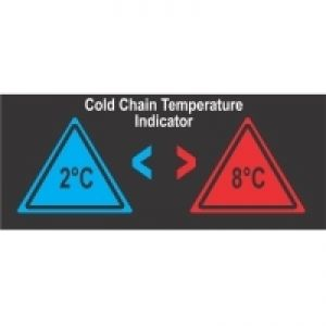 Reversible Temperature Indicating Labels - 2 Level