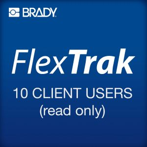 FlexTrak pack of 10 client users (read only)