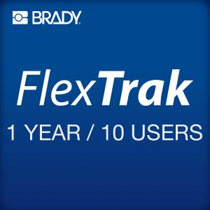FlexTrak 1 year subscription 10 users