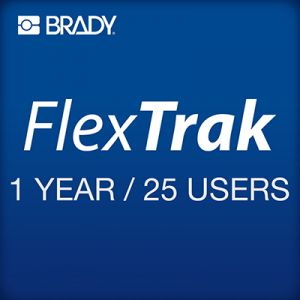 FlexTrak 1 year subscription 25 users