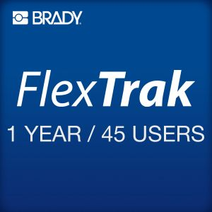 FlexTrak 1 year subscription 45 users