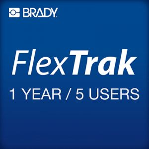 FlexTrak 1 year subscription 5 users