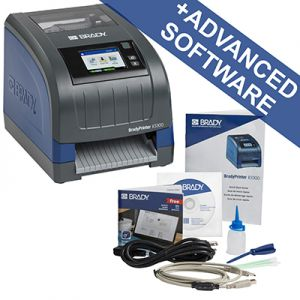 i3300 Industrial Label Printer- UK with Brady Workstation SFID Suite