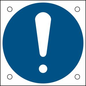 ISO Safety Sign - General mandatory sign