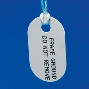 Rigid Polyethylene tags for M611 and BMP61