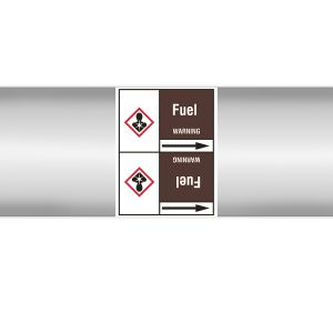 CLP Pipe Marker on Roll - Fuel 127X33RL-T3-LL-P19