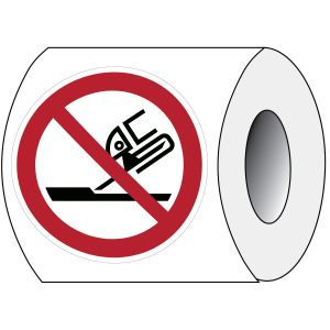 ISO Safety Sign - Do not use for face grinding