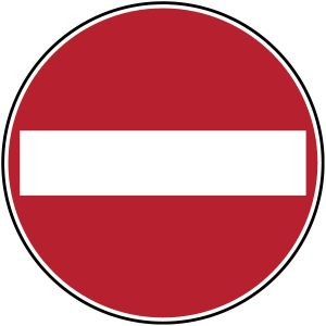 Traffic Sign on Roll - PIC 229