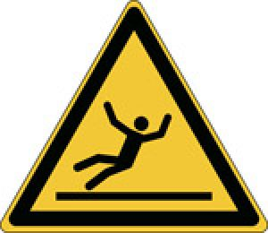 ISO Safety Sign - Warning; slippery surface