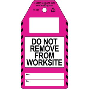 Do Not Remove from Site tag