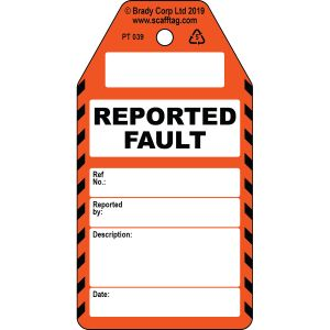 Reported Fault tag