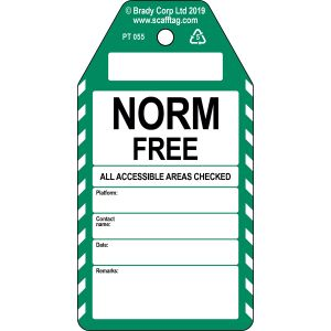 Norm Free tag
