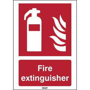 ISO 7010 Sign - Fire extinguisher