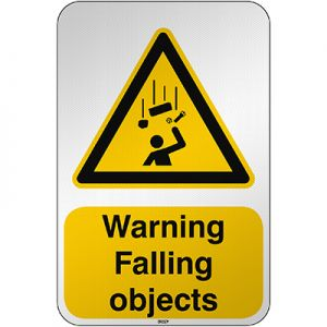 ISO Safety Sign Warning Falling objects