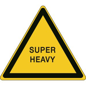 Transport Sign for Super Heavy load