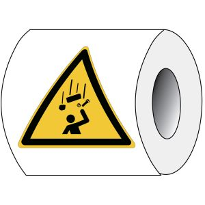 ISO Safety Sign - Falling objects