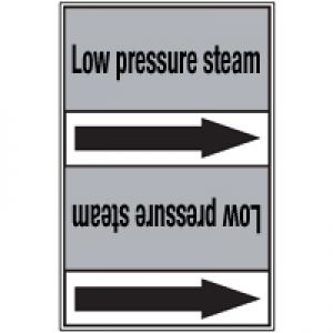 Roll form linerless Pipe Markers, without pictograms - Steam